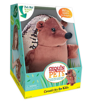 Creativity for Kids Sequin Pets Happy The Hedgehog