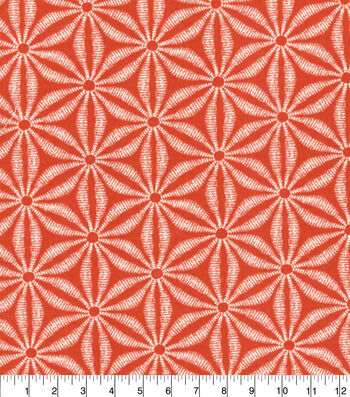 """Tommy Bahama Outdoor Fabric 13x13"""" Swatch-Star Batik Tiger Lily"""