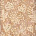 Batik Cotton Fabric-Ivory Leaves & Vines