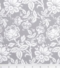 Keepsake Calico Cotton Fabric 43\u0022-Kimberly Small Floral Gray