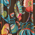 Genevieve Gorder Multi-Purpose Decor Fabric 54\u0027\u0027-Onyx Tropical Fete