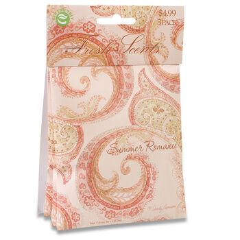 3 Pack Scented Sachet-Summer Romance