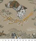 Anti-Pill Fleece Fabric 58\u0022-Hunting Bird Dogs