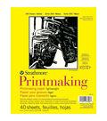 Strathmore Printmaking Paper Pad 8\u0027\u0027x11\u0027\u0027 40 pcs
