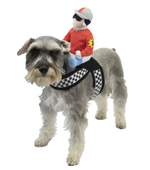 Maker's Halloween Pet Accessory-Back Jockey Large/X-Large