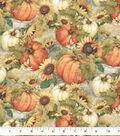 Harvest Cotton Fabric 43\u0022-Sunflower Garden