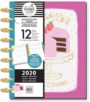 Happy Planner Girl Deluxe Classic 2020 Planner-Happy Hostess Confetti