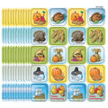 Teacher Created Resources Thanksgiving Stickers, 120 Per Pack, 12 Packs