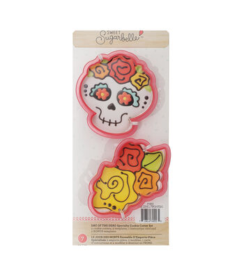Sweet Sugarbelle Specialty Cookie Cutter Set 7/Pkg-Day Of The Dead