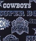 Dallas Cowboys Fleece Fabric -Champion Legacy
