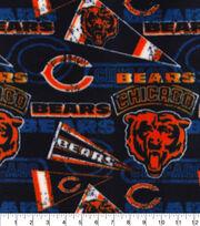 Chicago Bears Fleece Fabric Retro, , hi-res