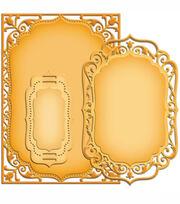 Spellbinders Nestabilities Card Creator Dies Elegant Labels 4, , hi-res