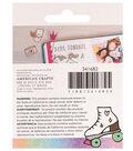 American Crafts Hello Dreamer Cat Adhesive Enamel Sticker