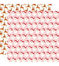 Merry & Bright Double-Sided Cardstock 12\u0022X12\u0022-Santa Claus