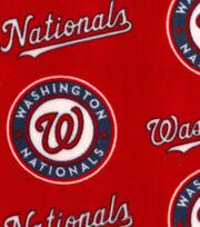 Washington Nationals Fleece Fabric -Logo, , hi-res
