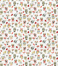 Home Decor 8x8 Fabric Swatch-Eaton Square Repeat Red