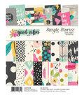 Simple Stories Good Vibes 24-sheet 6\u0027\u0027x8\u0027\u0027 Double-sided Paper Pad