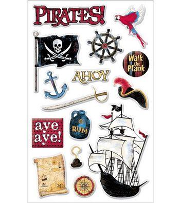 Sandylion Stickers-Pirates Gems