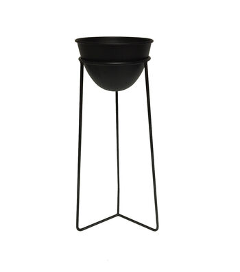 In the Garden 20'' Plant Stand-Black