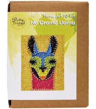 Pretty Twisted String Art DIY Kit-No Drama Llama