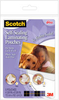 Scotch Self-Sealing Laminating Pouches 5/Pkg-4\u0022X6\u0022
