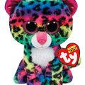 Ty Beanie Boos Plush Dotty Leopard-Multi