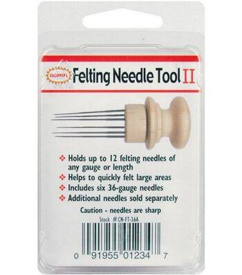 Felting Needle Tool II-Tool W/6 Needles