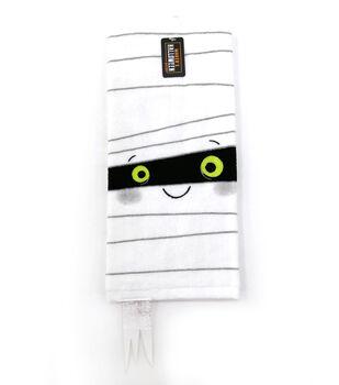 Maker's Halloween Decor 16''x26'' Towel-Figural Mummy