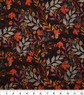 Harvest Cotton Fabric 44\u0022-Tossed Autumn Leaves