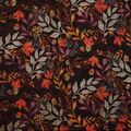 Harvest Cotton Fabric-Tossed Autumn Leaves