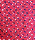 Cotton Shirting Fabric 57\u0027\u0027-Ditsy Floral on Red