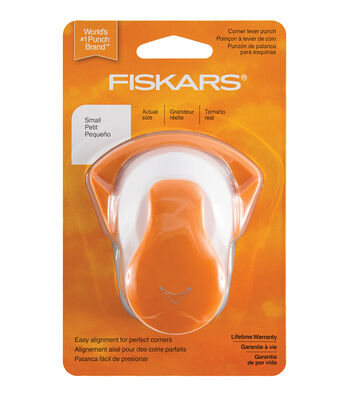 Fiskars Corner Lever Punch-Small Round