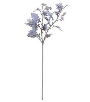 Blooming Autumn 28'' Dusty Miller Spray-Dark Blue