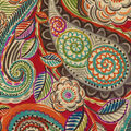 Waverly Upholstery Décor Fabric 9\u0022x9\u0022 Swatch-Mayan Market Caliente