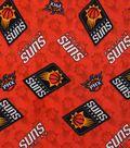 Phoenix Suns Cotton Fabric -Logo Toss