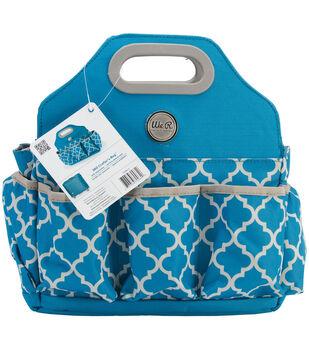 Crafter's Tote Bag-Aqua