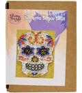 Pretty Twisted String Art DIY Kit-Senorita Sugar Skull
