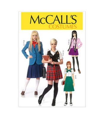 McCall's Pattern M7141-Blazers, Vest, Sailor Blouse and Pleated Skirt