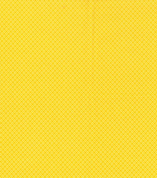 Keepsake Calico Cotton Fabric -Diamond Yellow Tonal