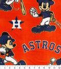 Houston Astros Fleece Fabric-Mickey