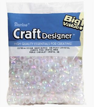 Big Value Pony Crystal beads
