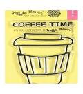 Waffle Flower Crafts Clear Stamps 2\u0022X3\u0022-Coffee Time
