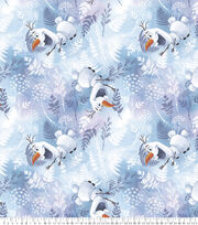 Disney Frozen Fleece Fabric-Olaf Snow Sliding, , hi-res