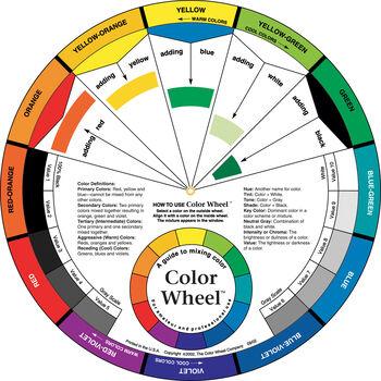 """Color Wheel-9.25"""""""