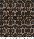 PKL Studio Upholstery Décor Fabric 9\u0022x9\u0022 Swatch-Chain Reaction Umber