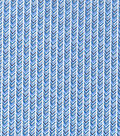 Keepsake Calico Cotton Fabric -Tonal Blue Arrow