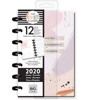 The Happy Planner Mini 2020 Dated Planner-Painterly