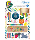 American Crafts Shimelle Box of Crayons 8-pages Book