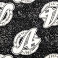 Avengers Fleece Fabric-Varsity Logo Toss