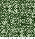 Quilter\u0027s Showcase Cotton Fabric-Swirl Vines on Hunter Green